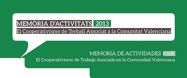 MEM�RIA D'ACTIVITATS 2013