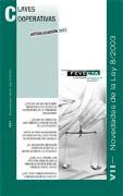 Clave Cooperativa VII - Novedades de la Ley 8/2003