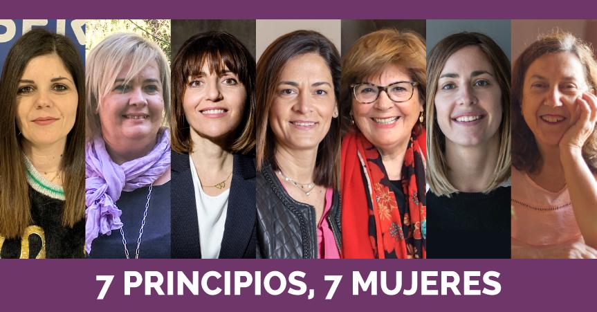 7 PRINCIPIOS, 7 MUJERES: El empoderamiento de la mujer en el entorno empresarial cooperativo