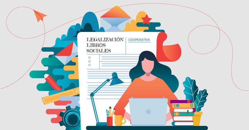 La legalización telemática de los libros sociales de las cooperativas