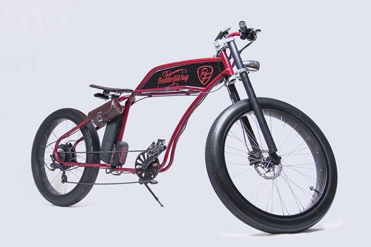 BOBBER CYCLES Coop V, bicicletas eléctricas para amantes del mundo 'costum'