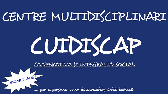 CUIDISCAP COOP.V., Cooperativa de integración social para ofrecer un futuro con garantías a jóvenes con discapacidad intelectual