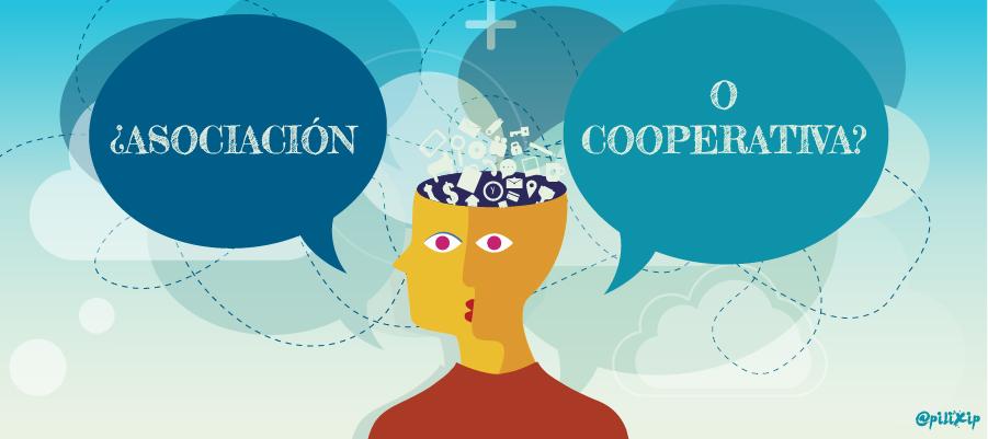 ¿Y por qué no cooperativa, si somos una asociación?