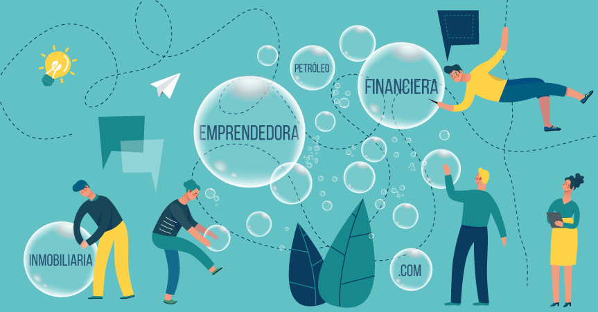 La burbuja emprendedora alentada por la crisis