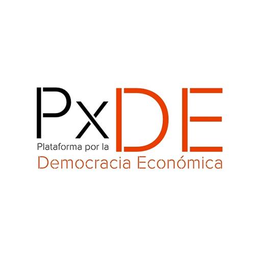PxDE Plataforma por la Democracia Económica