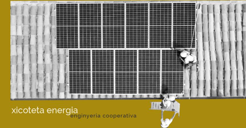 XICOTETA ENERGIA COOP.V: Energías renovables en manos de las personas